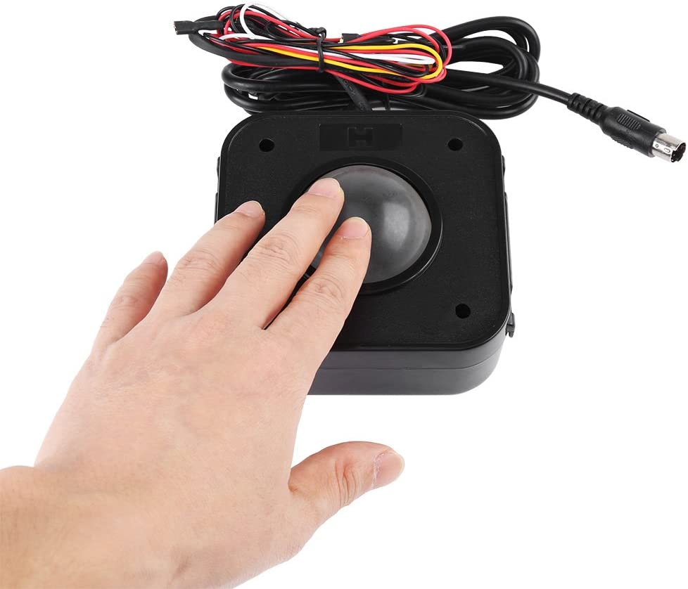 """2 1//4/"""" Arcade Trackball Mounting Plate for Arcade game PS//2 Trackball"""