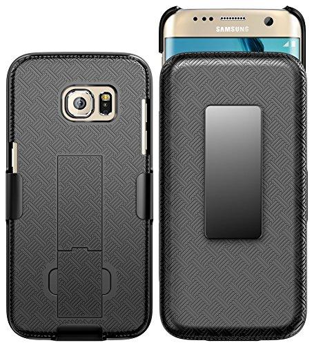 Galaxy S7 Edge Case, E LV - Belt Swivel Clip...