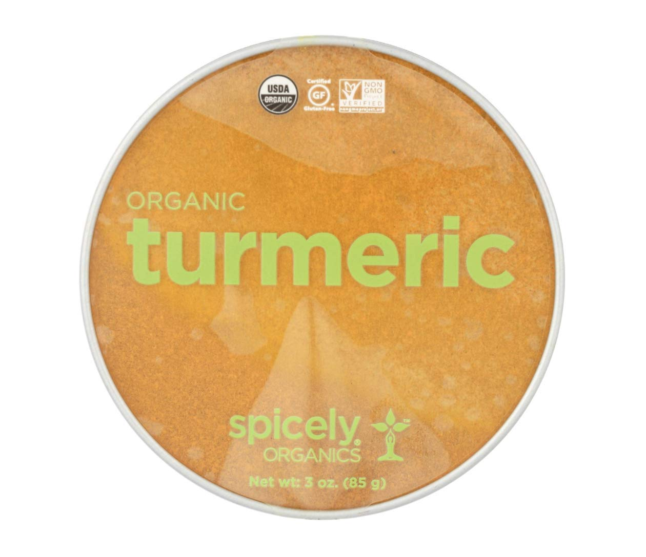 Spicely Organics Organic Turmeric | Case Of 2 | 3 Oz. by Unknown