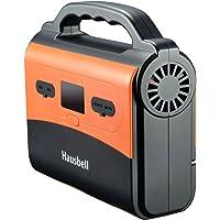 Hausbell 150 Watt 42000mAh Portable Solar Generator with 2 USB Outputs