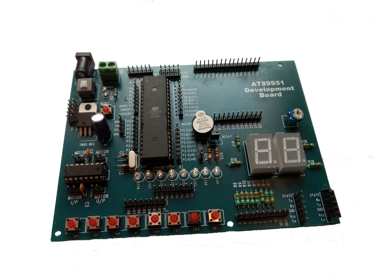 Buy Embeddinator 8051 Microcontroller Development Board Based Schematics System Circuit With Usb Programmer Combo Online At Low Prices In India Reviews Ratings