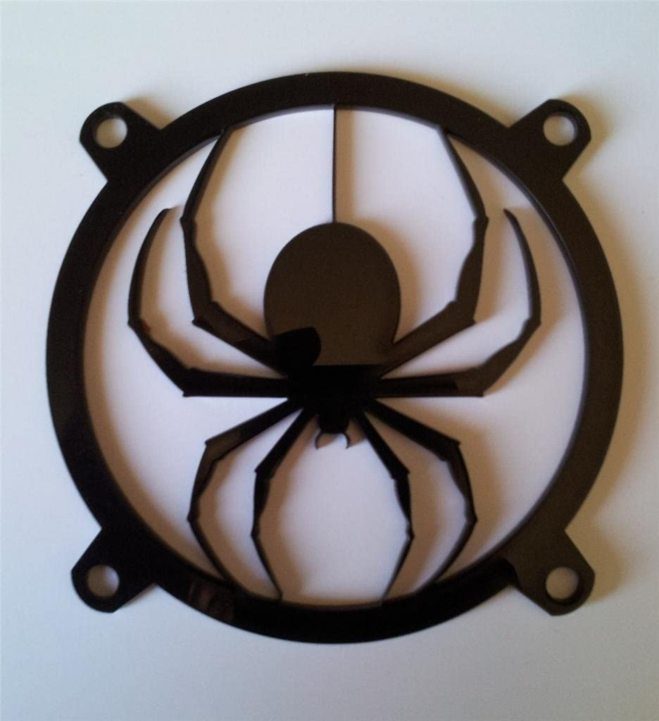 Custom Dropping Spider Computer Fan Grill 120mm