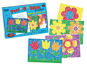 Lauri Peel and Stick by Numbers - Spring Flowers