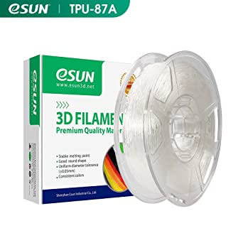 eSUN TPU Flexible Filamento de Impresora 3D, Filamento TPU ...