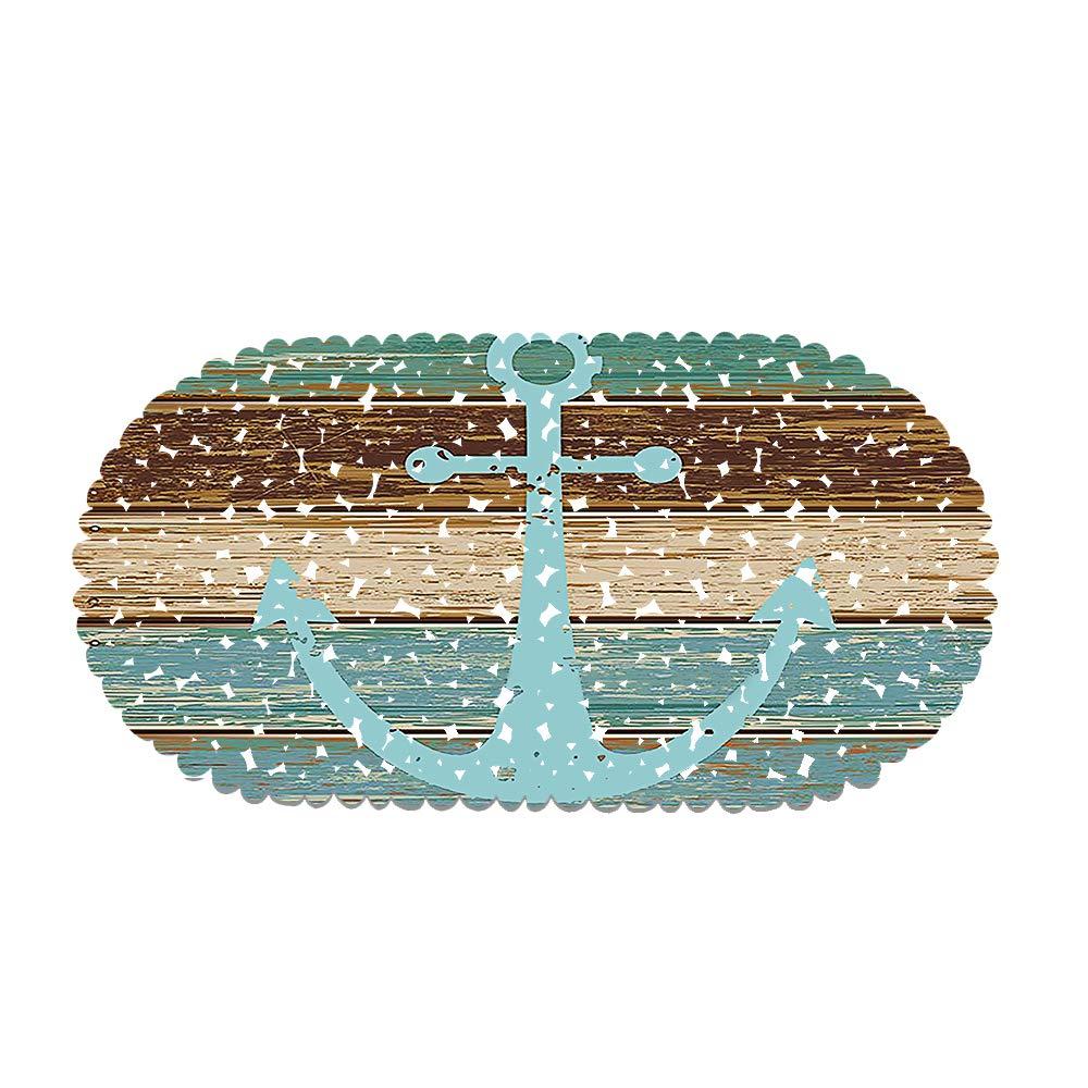 Gute Laune Dusche Style 01 Rutschfeste Badematte Duschmatte Oval 70x35cm,Mainstream-Spa/ßbild Rutschfeste Durable Duschmatte Badewannenmatte Mit Starken Saugn/äpfen Dekorieren Sie Das Badezimmer