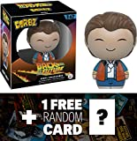 Marty McFly: Funko Dorbz x Back to the Future Vinyl Figure + 1 FREE Classic Sci-fi Movie Trading Card Bundle (086954)