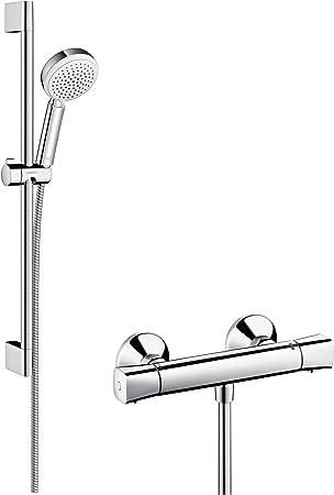 Hansgrohe 27030400 Crometta 100 Vario combinación de set de ducha ...