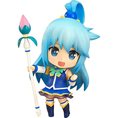 Good Smile Kono Subarashiki Aqua Nendoroid Action Figure: Toys & Games
