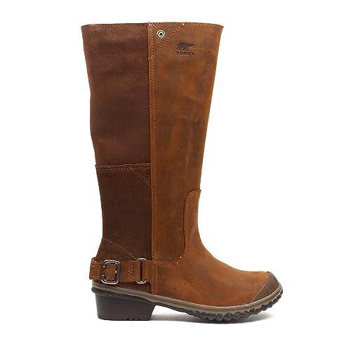 5414877aa1d Sorel Slimboot Women's Boot Nutmeg / Coffee Bean 10 B(M) US: Buy ...