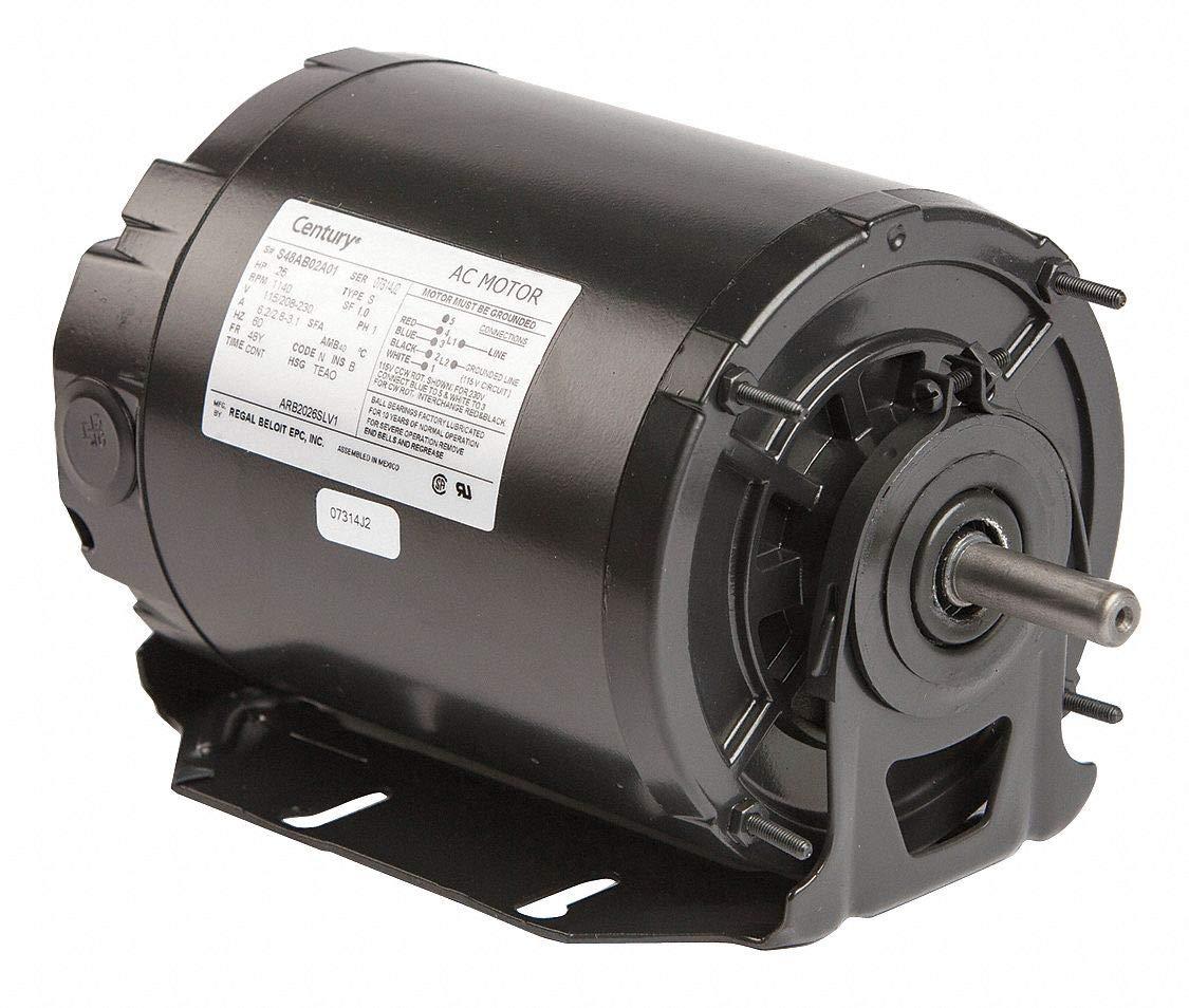 Century Motor Sp Ph 1/4 HP 1140 115/208-230V 48Y