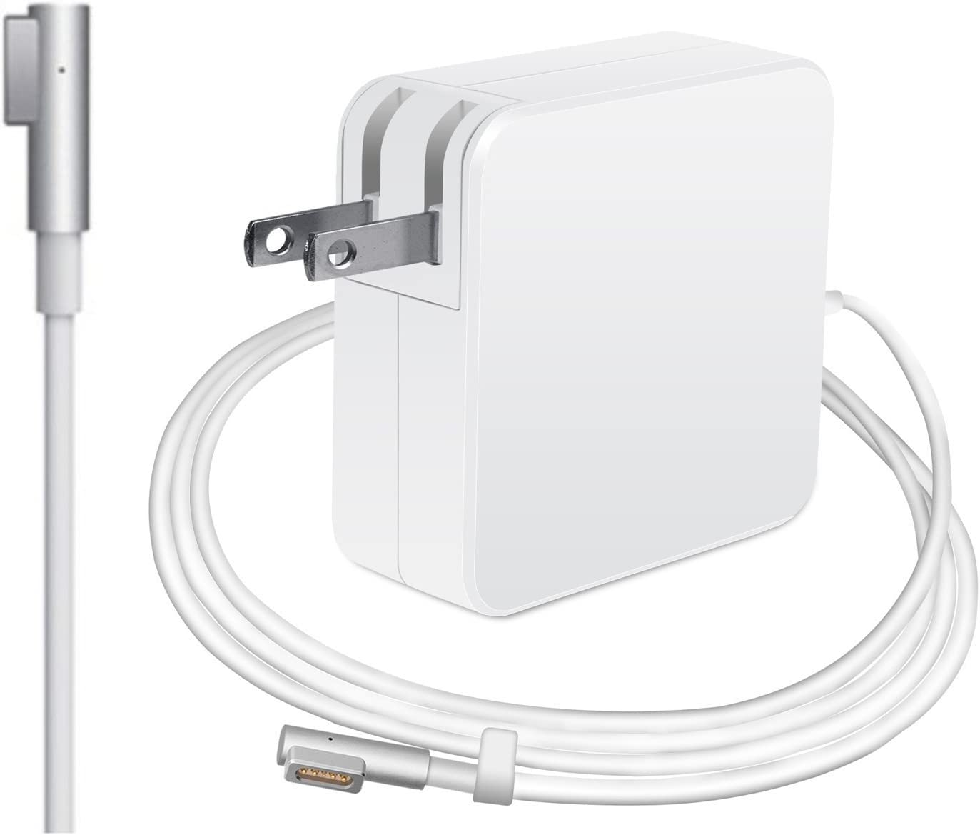 "MacBook Pro Charger,Replacement 60w Ac Power Supply Laptop Computer Chargers & Adapters Compatible for Apple MacBook 13"" A1181 A1278 A1184 A1330 A1342 A1344 (White2)"