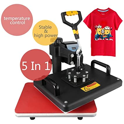 MAIKESUB Máquina de impresión en caliente 5 en 1 ...