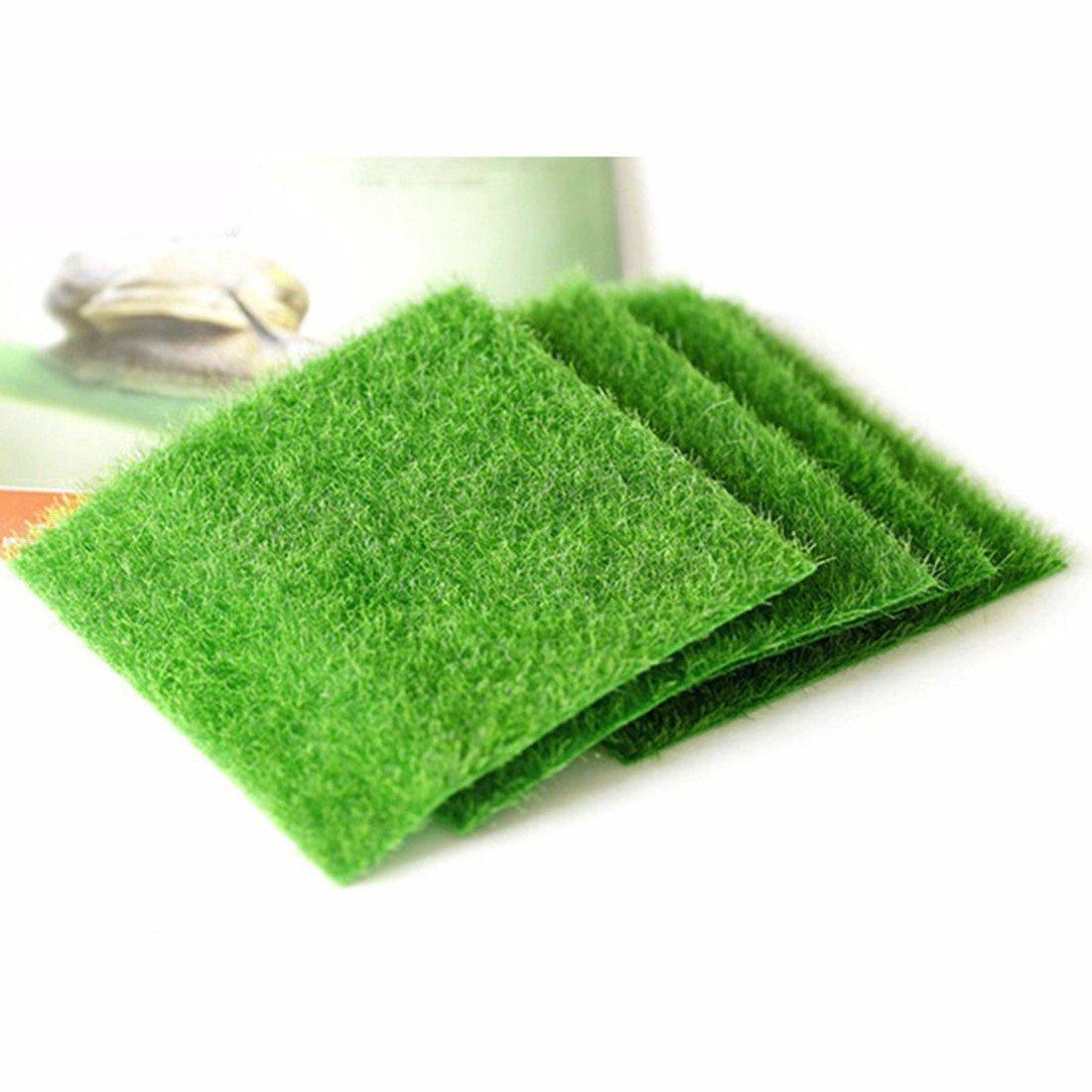 Artificial Grass Fake Lawn Fake Grass Miniature Dollhouse Home Garden D¨¦cor