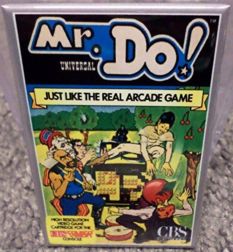 Mr. Do Colecovision Vintage Game Box 2x3 Fridge Locker MAGNET