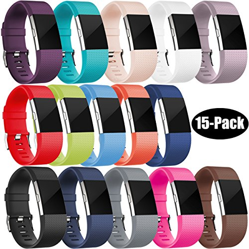 Wepro Fitbit Charge 2 Bands, Replacement Bands for Fitbit