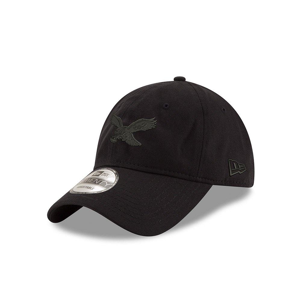 Amazon.com   Philadelphia Eagles Classic Throwback Black on Black 9TWENTY  Adjustable Hat   Cap   Sports   Outdoors f6df32cfc