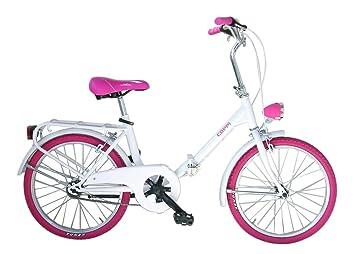 Fausto Coppi Bicicleta Plegable Folded Steel 20 Graziela Blanco / Rosa