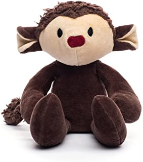 "product image for Bears For Humanity Monkey Stuffed Animal - Organic Monkey is a Non-Toxic, 12"" PlushToy"