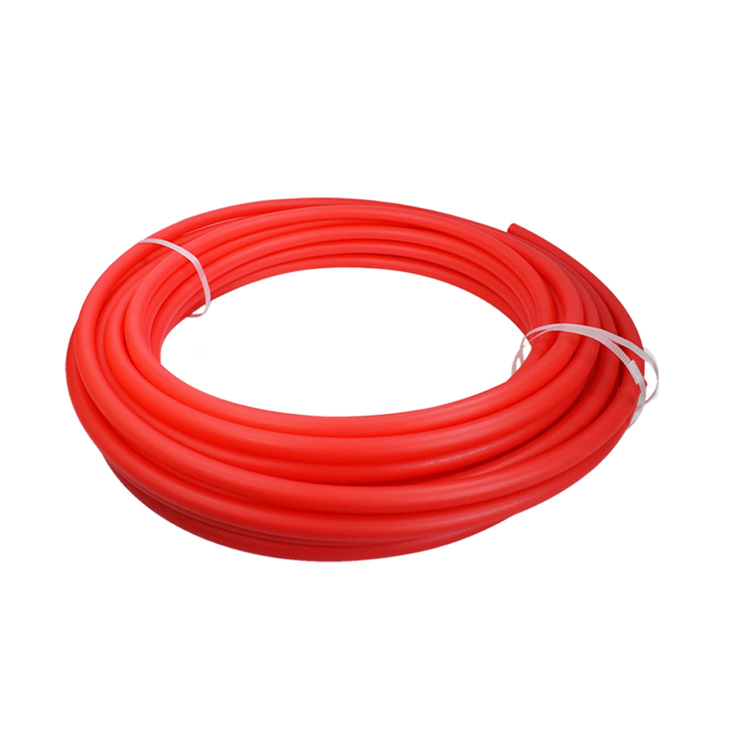 Pexflow PEX Potable Water Tubing - PFW-R34300 3/4 Inch X 300 Feet Tube Coil for Non-Barrier PEX-B Residential & Commercial Hot & Cold Water Plumbing Application (Red)