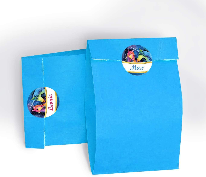 JuNa-Experten 10 Einladungskarten Einhorn Kindergeburtstag M/ädchen Unicorn Geburtstagseinladungen Einladungen Geburtstags-Party Kartenset
