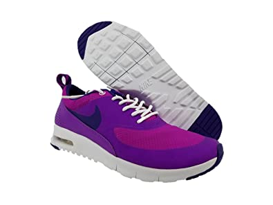 hot sale online 587a0 80edf Image Unavailable. Image not available for. Color  Nike Girls Running Shoes  Air Max Thea 6 Purple