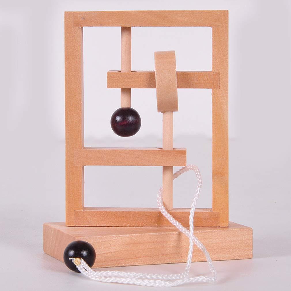 LIXIAQ1 juego de rompecabezas cl/ásico de madera para adultos y ni/ños