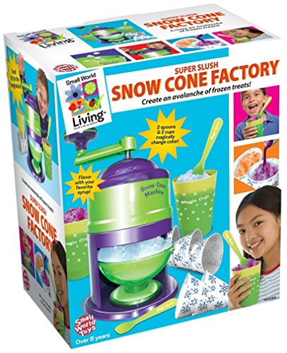 Number One Little Chefs Make Your Own Super Slush Snow Cone Factory - Party Accessories - Real Food Set Ideal Present Gift for Christmas Xmas Stocking Filler Birthday Easter or Treat Reward or Pocket Money Idea Toys & Games Age 8+ Girls Boys Kids Children