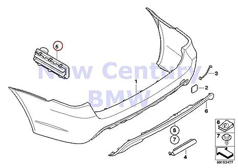 Amazon Com Bmw Genuine Rear Ventilation 525i 525xi 530i 530xi 545i