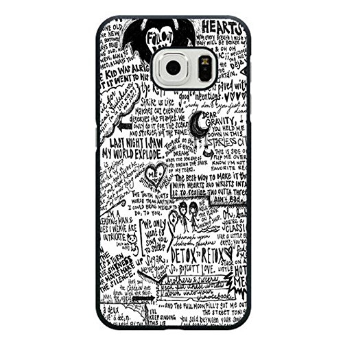Samsung Galaxy S6 Edge FOB Band Cover Shell Fashion Funny Printed EMO Rock Band Fall Out Boy Phone Case Cover for Samsung Galaxy S6 Edge