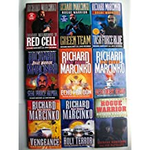 Rogue Warrior Series Set (9 Books) Red Cell, Green Team, Task Force Blue, Seal Force Alpha, Echo Platoon, Detachment Bravo, Vengeance, Holy Terror, Dictator's Ransom