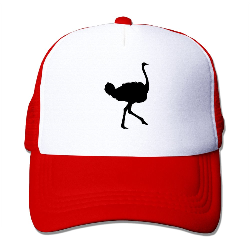 Ostrich Kids Custom Hat One Size Fits Most Dancing Mesh Cap Adjustable