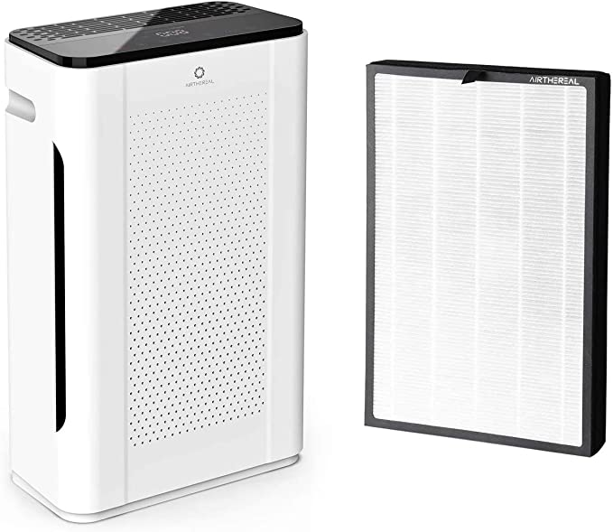 Airthereal Bundle | APH260 Air Purifier and 1-pack Spare Replacement Filter, Pure Morning