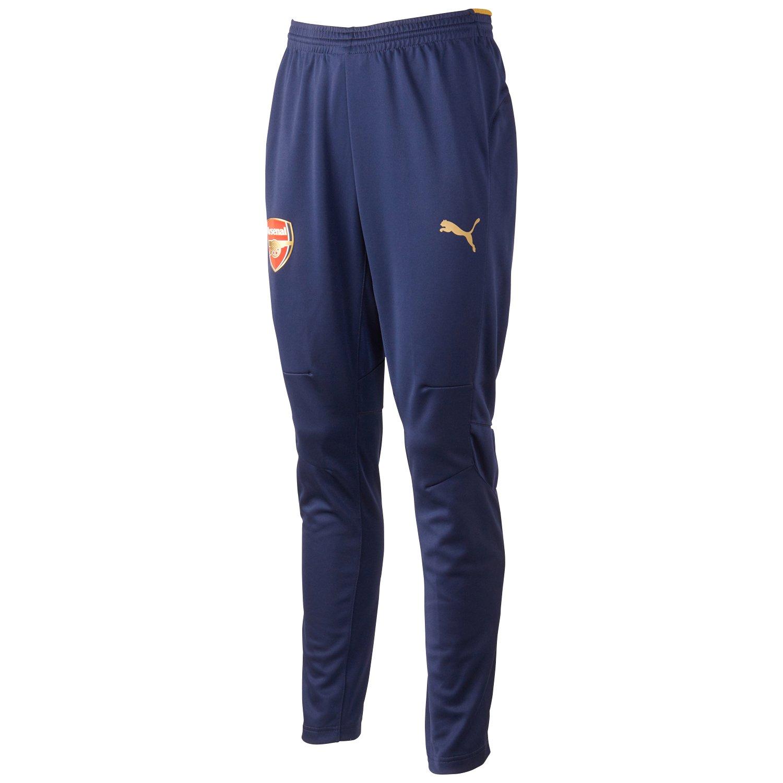 Puma Men's Arsenal Football Club Training Pants Without Pockets Victory Gold Size:Medium 747612 02