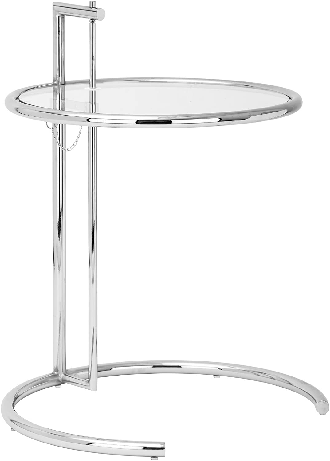Amazon Com Poly And Bark Eileen Gray Side Table Silver Kitchen
