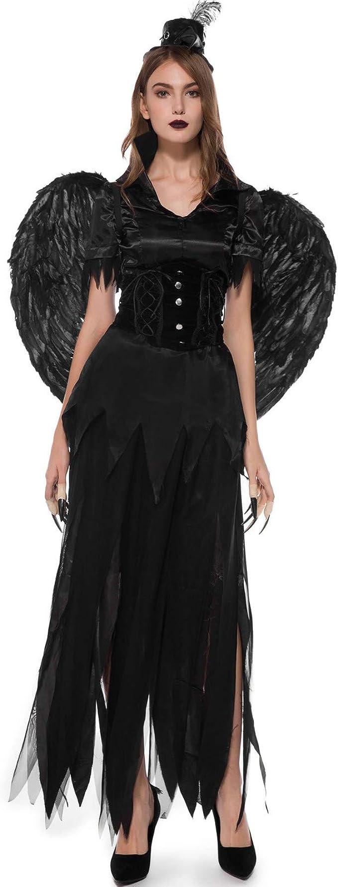 Goosun Disfraz De Carnaval Dama Disfraz De Halloween Ángel Oscuro ...