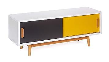 Ts Ideen Meuble Bas Tv Lowboard Sideboard Etagere Style Retro Shabby