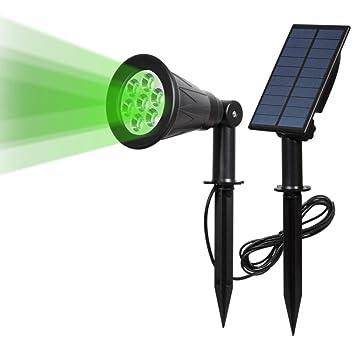Energy Save Ip65 Waterproof 7 Led Solar Garden Light Outdoor Full