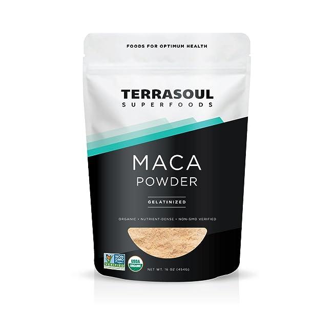 Terrasoul Superfoods Organic Gelatinized Maca ...