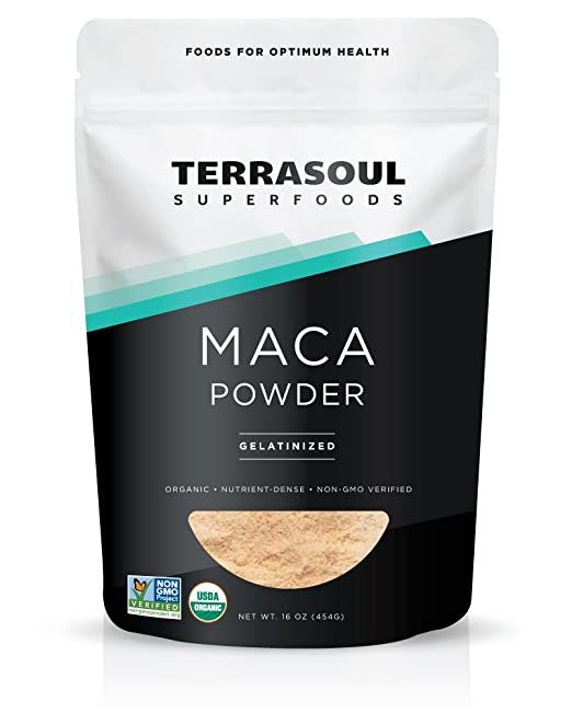 Product thumbnail for Terrasoul Superfoods Organic Gelatinized Maca Powder