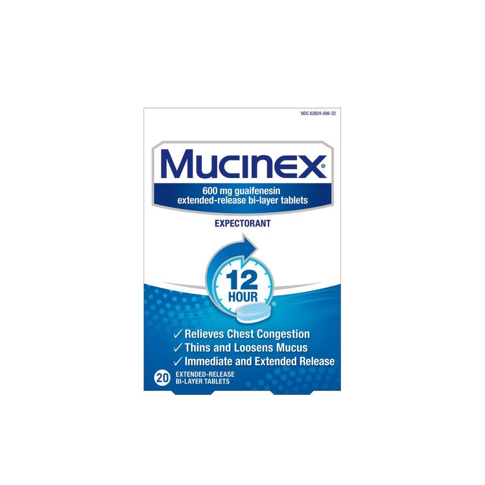 Amazon.com: Mucinex DM 12 Hr Expectorant & Cough