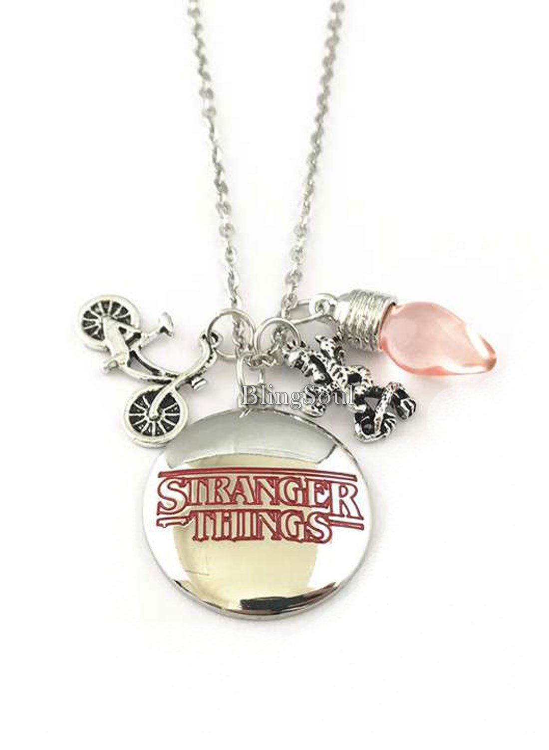 BlingSoul Stranger Things Necklace for Girls - ST Jewelry Merchandise Collection…