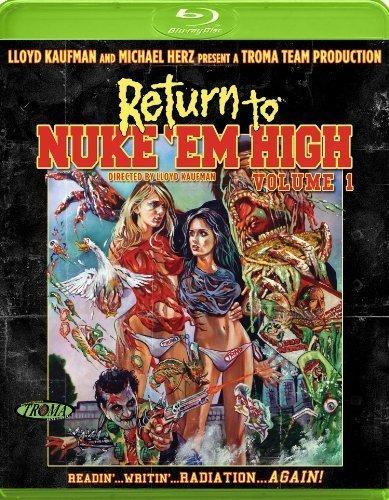 Return to Nuke 'Em High 1, Vol. 1 [Blu-ray] by ANCHOR BAY by Lloyd Kaufman (Return To Return To Nuke Em High)