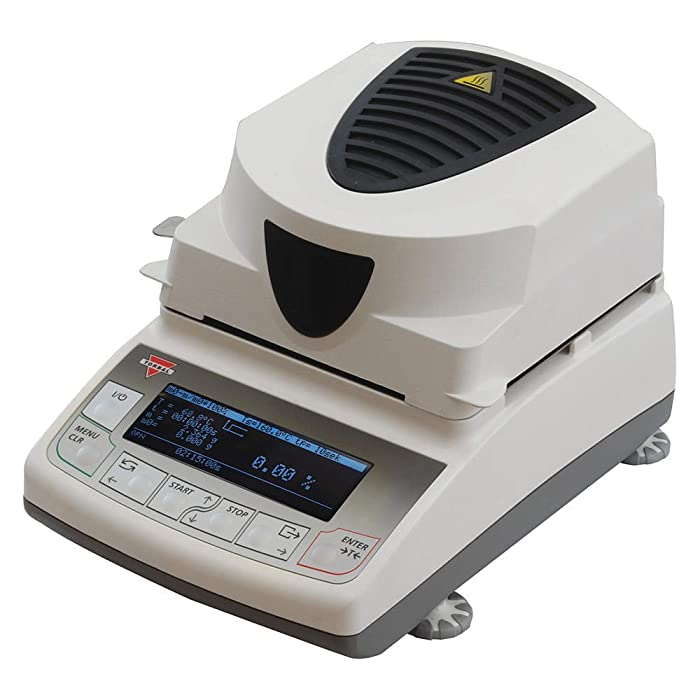 Torbal ATS120 Moisture Analyzer, 0.01% Readability, 160C, 120g x 0.001g,Backlit Graphical LCD Display, USB Interface, Compact Design, 4 Drying Modes