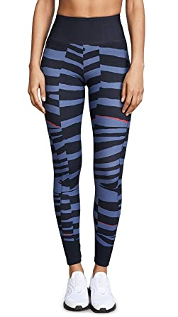 b7b0bde9f0c4b adidas by Stella McCartney Women's Train Miracle Leggings, Night Grey,  X-Small at Amazon Women's Clothing store: