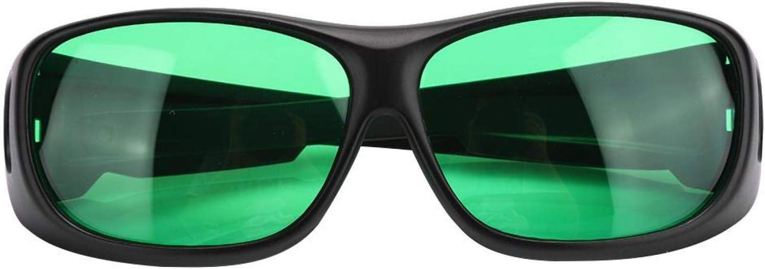 Gafas de polarización UV Gafas de cultivo Bloques de corrección de color Todos los rayos UVA y UVB, para tiendas de campaña Invernadero Planta hidropónica Luz segura para los ojos