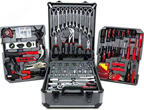 UNITED TRADE Maleta caja herramientas de trabajo completa Trolley ...
