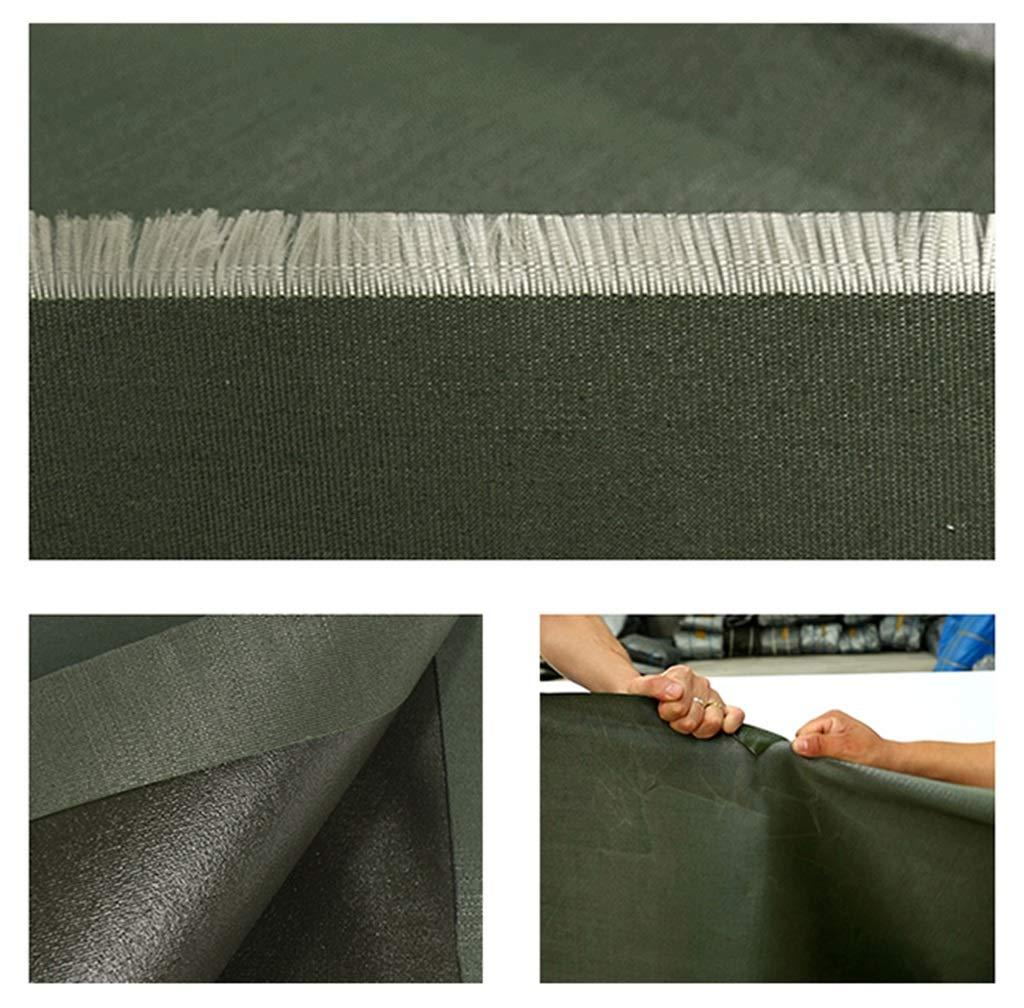 Telone impermeabile antipioggia antipioggia antipioggia per impieghi gravosi antipioggia - 600 g m², spessore 0,5 mm (dimensioni   2MX2M) | Vari I Tipi E Gli Stili  | Garanzia autentica  04a0a0
