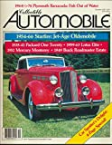 img - for Collectible Automobile: 1954-66 Oldsmobile Starfire; 1964 -74 Plymouth Barracuda; 1935-41 Packard One Twenty; 1959-63 Lotus Elite Colin Chapman Daring Sports Car; 1952 Mercury Monterey book / textbook / text book
