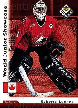 Amazon Com Ci Roberto Luongo Hockey Card 1998 99 Ud Choice Base