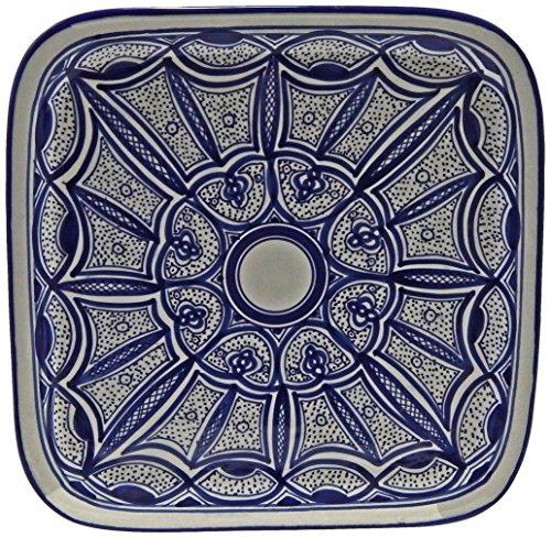Le Souk Ceramique Qamara Design Square Platter